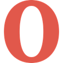 Opera, internet, Logo, Browser IndianRed icon