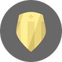 Protection, secure, shield, security, Guard, protect, Safe, award, Block DimGray icon