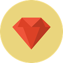 Expensive, Stone, diamond, jewel, value, gem, gemstone, precious, ruby Khaki icon