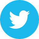 twitter, Circle DeepSkyBlue icon