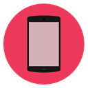 phone IndianRed icon
