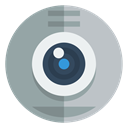 Webcam DarkGray icon