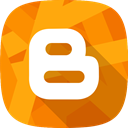 social network, blogger DarkOrange icon