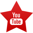 youtube Firebrick icon