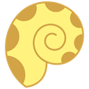 summer, Animals, sea, Shell, ocean Khaki icon