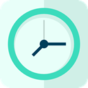 time, Clock, hour Azure icon