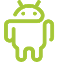 play store, Logo, robot, google play, android market, smart phone, google, Playstore, Os, smartphone, Mobile, Android YellowGreen icon