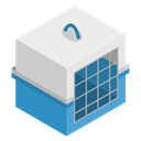 transport, Cage, pet WhiteSmoke icon