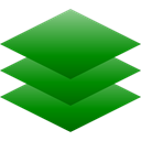 Layers ForestGreen icon