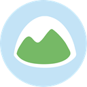 Social, Basecamp, ubercons, socialpack PaleTurquoise icon