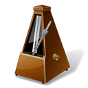 metronome, Tempo, instrument, music Black icon