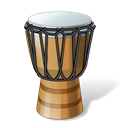 gobletdrum, music, Drum, instrument, slam Black icon