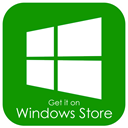 Available, windows, Get, phone, it, store Green icon