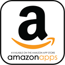 store, Available, Amazon, App, Appstore, Apps, Application Black icon