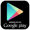 google, market, Android, play Black icon