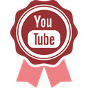 youtube Brown icon
