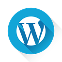 Wp, Wordpress DarkTurquoise icon