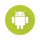 Android, droid YellowGreen icon
