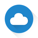 Cloudapp, Cloud SteelBlue icon