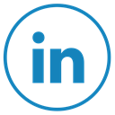 Linkedin Black icon