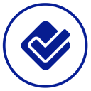 Foursquare DarkBlue icon