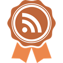 feed, Rss, Social, social media Chocolate icon