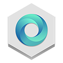 Currents, google Gainsboro icon