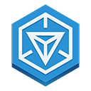 Ingress DodgerBlue icon