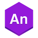 edge, Animate BlueViolet icon