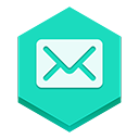 Email2 DarkTurquoise icon