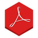 reader, adobe Crimson icon