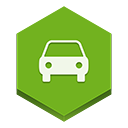 Car OliveDrab icon