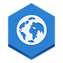 Browser RoyalBlue icon