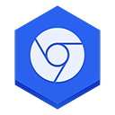 Chrome2 RoyalBlue icon