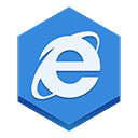 Explorer, internet RoyalBlue icon