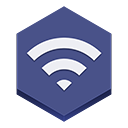 Wifi2 DarkSlateBlue icon
