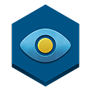 Eye, A, In, sky Teal icon