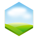 weather Lavender icon
