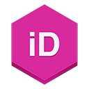 Indesign MediumVioletRed icon