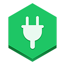 power MediumSeaGreen icon