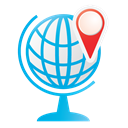 internet, Local, Business, global, seo, earth, website, web Black icon