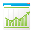 tracking, charts, report, chart, Analytics, performance, conversion tracking, optimizing, graph, statistics, seo, Conversion, marketing, graphs, financial, Bar WhiteSmoke icon