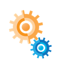 Cogs, internet, seo, Business, Connection, marketing, Thinking Black icon