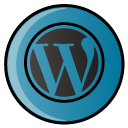 script, Social, Wp, blog, Wordpress, hayal SteelBlue icon