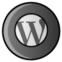 Social, Wp, hayal, Wordpress, blog, script DarkSlateGray icon