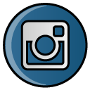 Social, hayal, photo, Instagram Teal icon