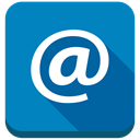 Email, Address, Contact, At, mail DarkCyan icon