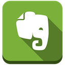ever note, Evernote, elephant YellowGreen icon