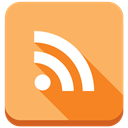 blog, Rss, subscribe, feed, Blogging SandyBrown icon