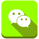 We chat, Wechat Chartreuse icon